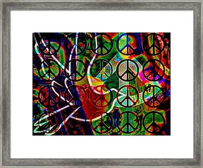 What's Goin On Framed Print by Wendie Busig-Kohn