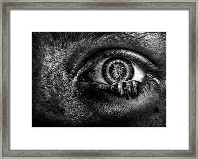 What's Inside Framed Print by Joshua Minso
