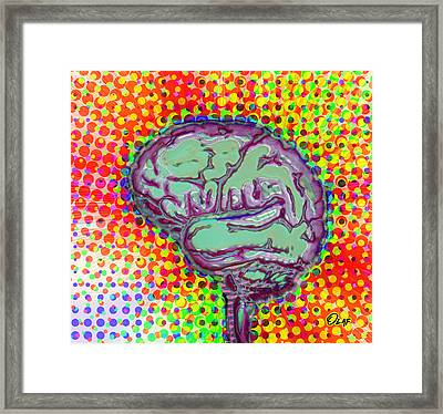 What's On Your Mind Framed Print