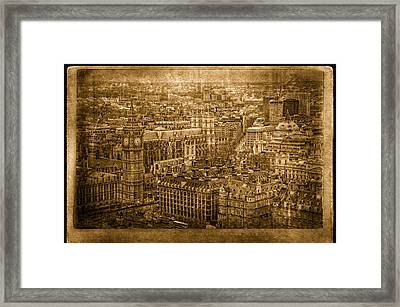 What's The Time Framed Print by Vessela Banzourkova
