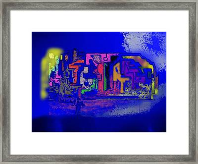 Whats Up Joe Framed Print by Gregory Steward