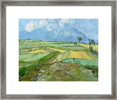 Wheat Fields After The Rain Framed Print