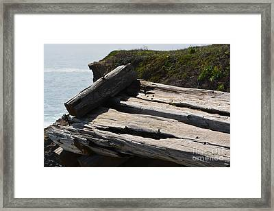 Wheathered By Time Framed Print by Beth Sanders