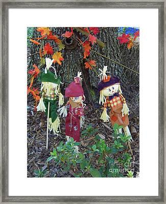 Wheel Into Fall Framed Print by D Hackett