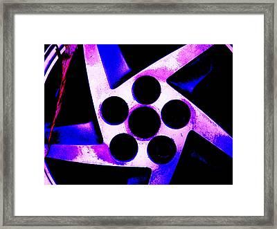 Wheel Of Color Framed Print