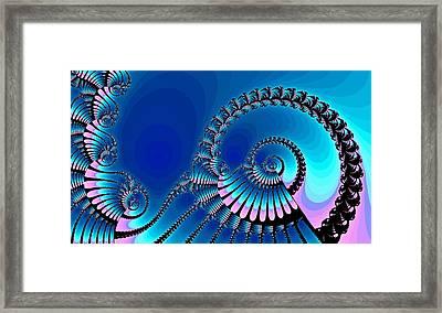 Wheel Of Fortune Framed Print by Anastasiya Malakhova