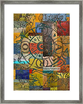 Wheel Of Fortune Framed Print by Corporate Art Task Force