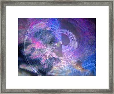Wheel Of Fortune Framed Print by Michael Durst