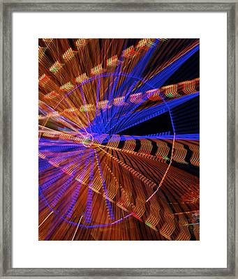 Wheel Of Light Framed Print