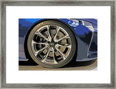 Wheel Of The Future Framed Print by Tom Gari Gallery-Three-Photography