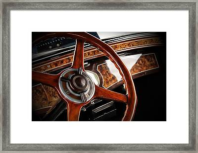 Framed Print featuring the photograph Wheel To The Past by Aaron Berg