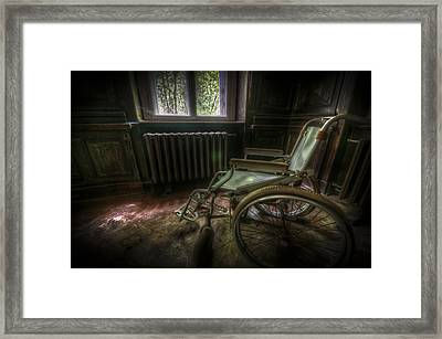 Wheelchair View Framed Print by Nathan Wright