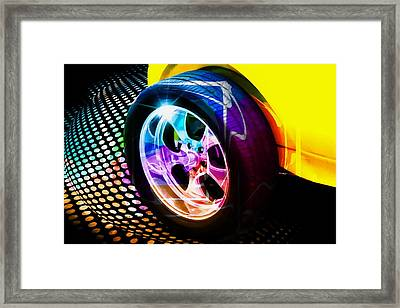 Framed Print featuring the photograph Wheeled by Aaron Berg