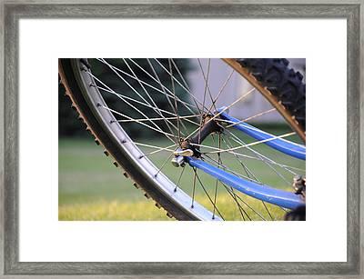 Wheeling Framed Print