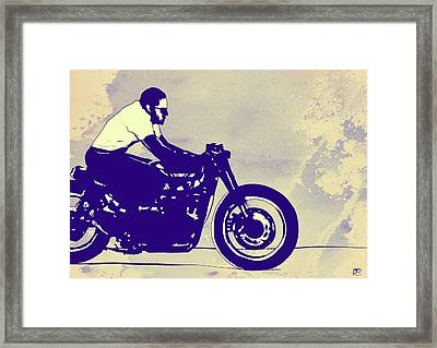 Wheels Framed Print by Giuseppe Cristiano