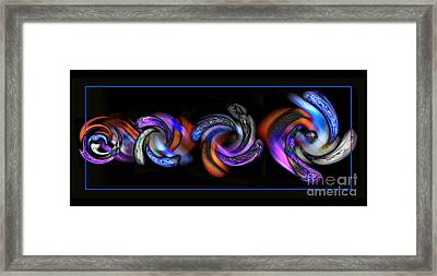 Wheels In Motion Framed Print by Sue Stefanowicz