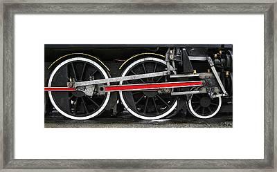 Wheels Of The Kingston Flyer Framed Print by Joe Bonita