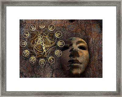 Wheels Of Time Framed Print by Gun Legler