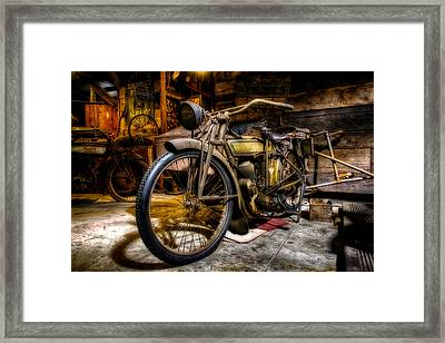 Wheels Through Time 7 Framed Print