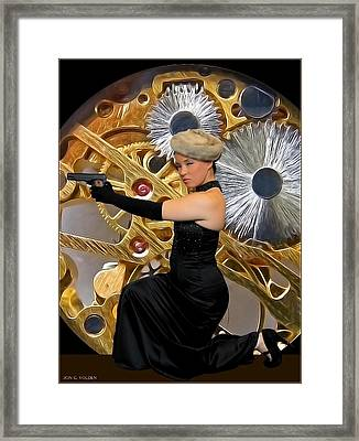 Wheels Within Wheels Framed Print