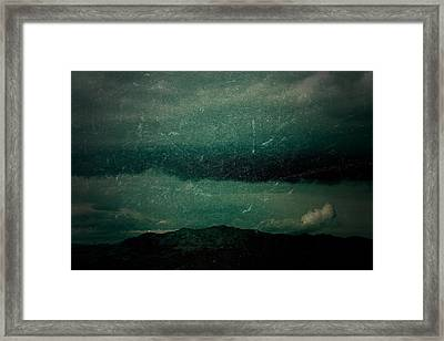 When All You Have Framed Print