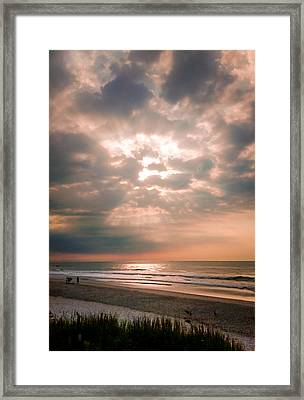 When Angels Sing Framed Print