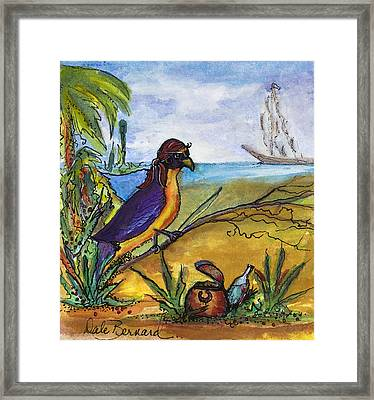 When Birds Of Paradise Go Bad Framed Print by Dale Bernard