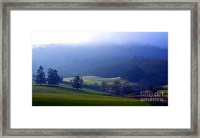 When Dawn Breaks Framed Print