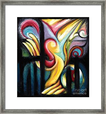 When Freedom Comes Framed Print by Tiffany Davis-Rustam