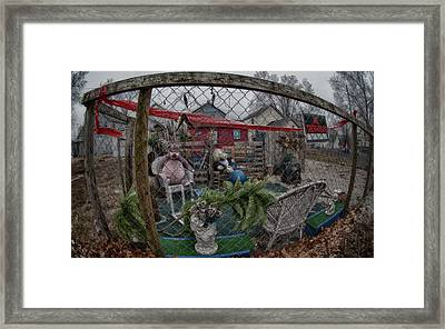 When Good Toys Go Bad Framed Print