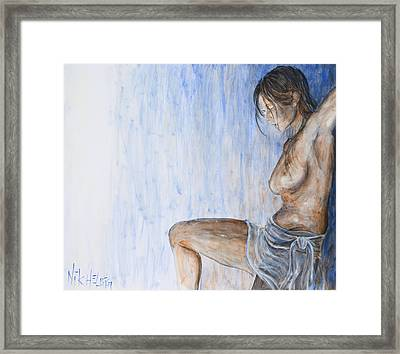 When I Come Around Framed Print by Nik Helbig