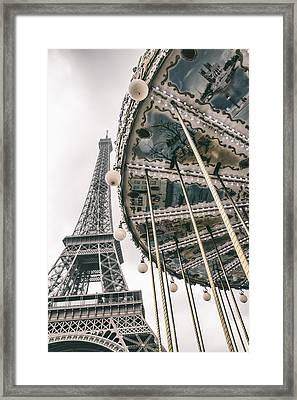 When I Dream Of Paris Framed Print