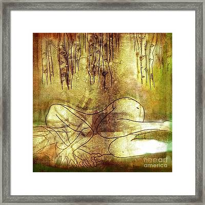 When I Lay Down Framed Print