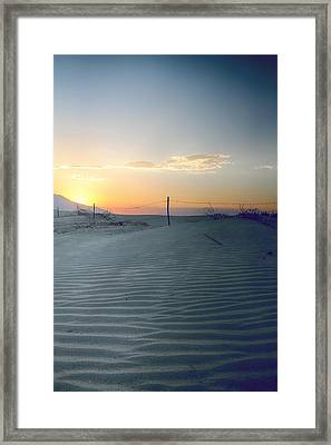 When I Needed You Most Framed Print by Laurie Search