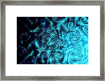 When It Rains Framed Print by Hakon Soreide