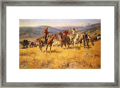 When Law Dulls The Edge Of Chance Framed Print