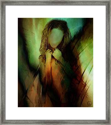When Life Feels Like Needles On Your Skin Framed Print by Gun Legler