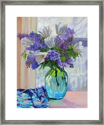 When Lilacs Bloomed Framed Print