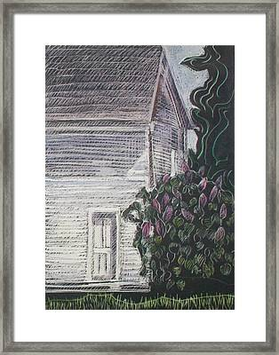 When Lilacs Last... Framed Print