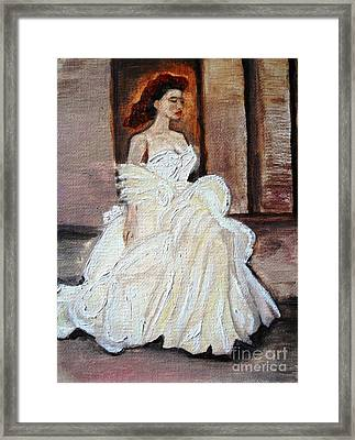 When Lovely Women II Framed Print