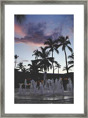 When Magic's In The Air Framed Print by Laurie Search
