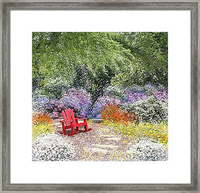 When May Comes Framed Print