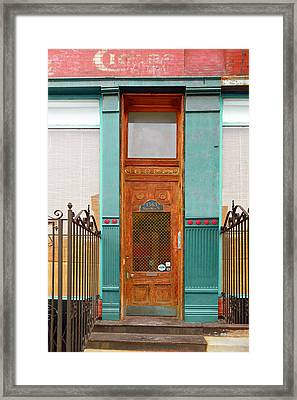 When One Door Closes Framed Print by Christine Till