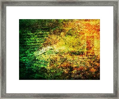 Framed Print featuring the mixed media When Past And Present Intersect #1 by Sandy MacGowan