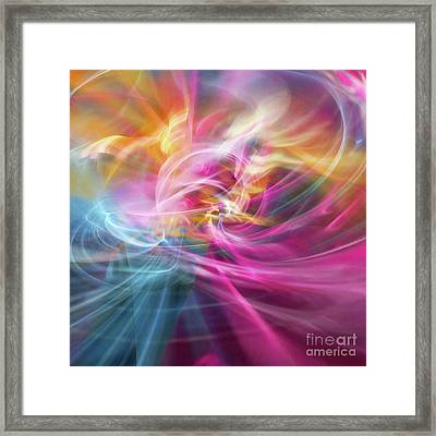 Framed Print featuring the digital art When Prayers Enter The Throne Room by Margie Chapman