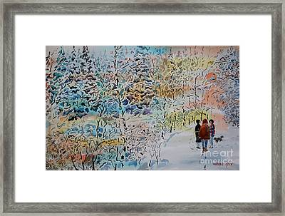 When Shall We Three Meet Again Framed Print