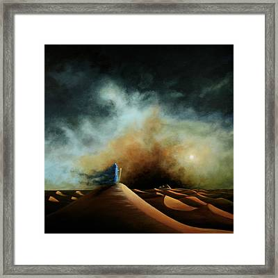 When The Boy Becomes The Wind Framed Print
