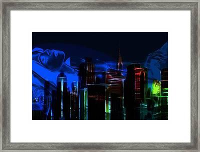 When The City Sleeps Framed Print by Steve K