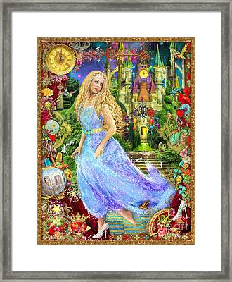 When The Clock Strikes Midnight Variant 1 Framed Print by Aimee Stewart
