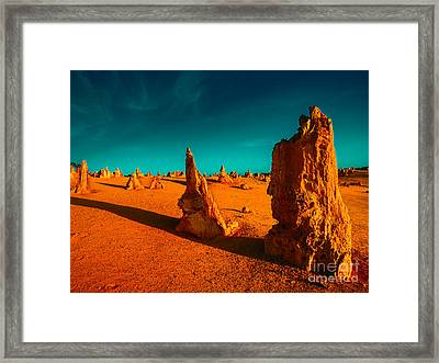 When The Day Is Done Framed Print by Julian Cook
